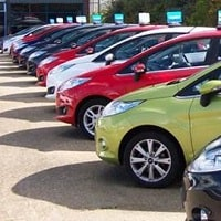 Photo of a few cars for motor trade road risk insurance